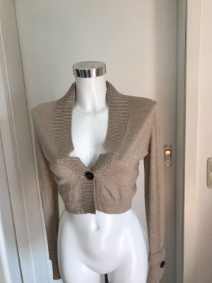 Best Connections Knitted Bolero beige-camel