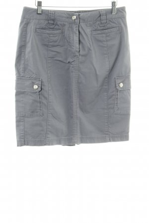 BC Collection Jeansrock hellgrau Casual-Look