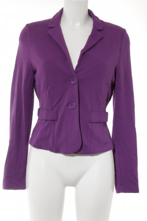 BC Collection Kurz-Blazer lila Casual-Look
