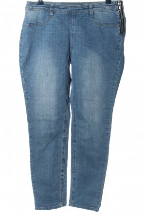 BC Collection Jeansy rurki niebieski W stylu casual