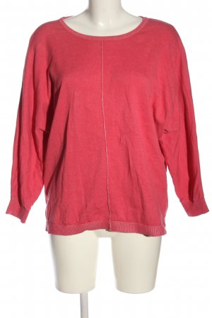 BC Collection Kraagloze sweater rood casual uitstraling