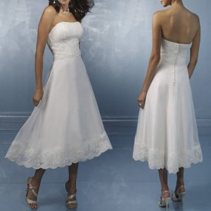 BC Collection A-lijn jurk wit