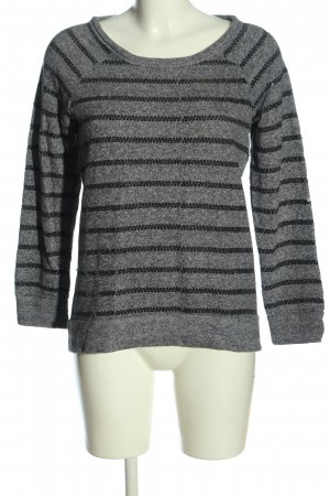 BC Collection Knitted Sweater light grey flecked casual look