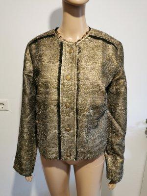 BC Damen Blazer Jacke Abendjacke gold schimmernd Größe 40 NEU
