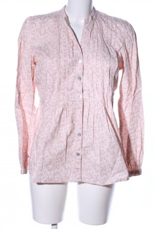 BC Long Sleeve Blouse pink-khaki flower pattern casual look
