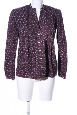 BC Long Sleeve Blouse brown-pink allover print business style