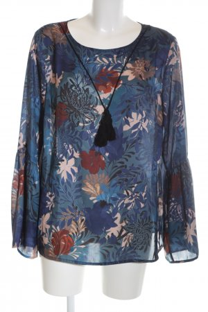 BC Long Sleeve Blouse allover print business style
