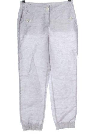 BC Pantalon en lin gris clair moucheté style décontracté