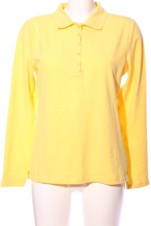 BC Polo-Shirt blassgelb Casual-Look