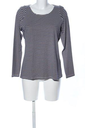BC Stripe Shirt cream-black allover print casual look