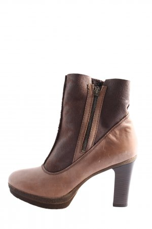 BC Slouch Stiefeletten braun-nude Casual-Look