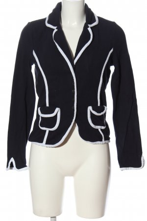 BC Knitted Blazer black-white business style