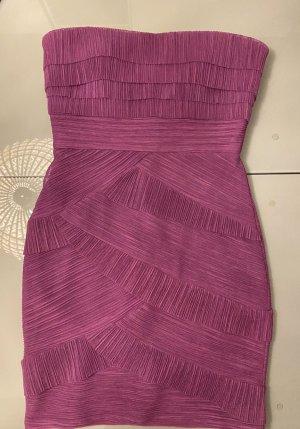 BCBG Maxazria Evening Dress purple polyester