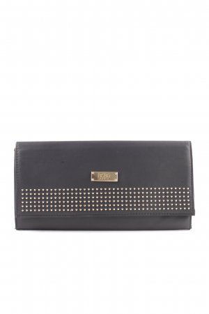 BCBG Clutch schwarz-goldfarben Business-Look