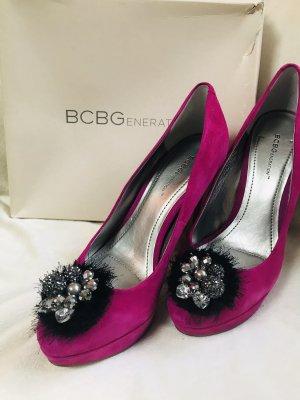 BCBG High Heels raspberry-red