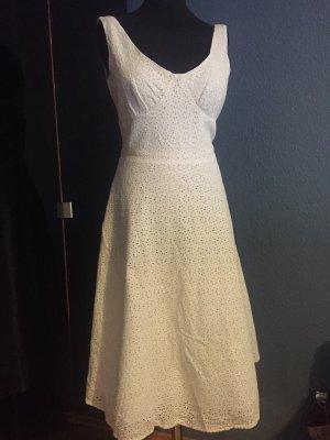 BCBG Robe mi-longue blanc