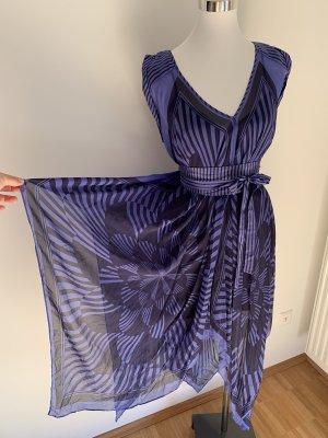 BCBG Kleid blau asymmetrisch Sommerkleid