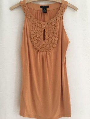 BCBG Maxazria Robe d'été abricot