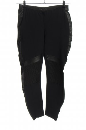 BCBG Maxazria Pantalone a 7/8 nero stile casual