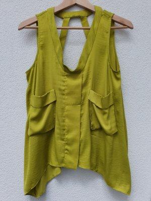 BCBG Maxazria A Line Top multicolored polyester