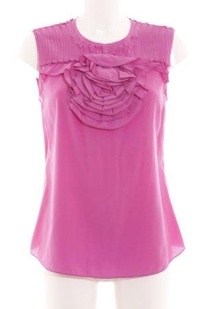 BCBG Maxazria ärmellose Bluse pink Elegant