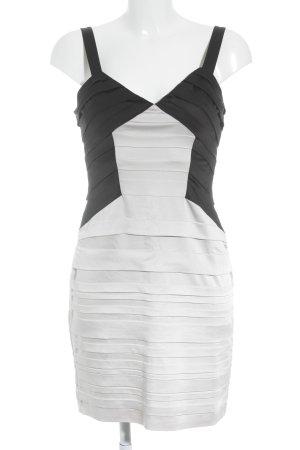 BCBG Maxazria Ołówkowa sukienka kremowy-czarny