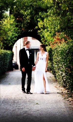 BCBG MAXAZRIA Braut- und/oder Abendkleid