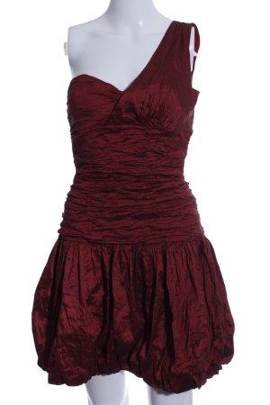 BCBG Maxazria Vestido bustier rojo elegante
