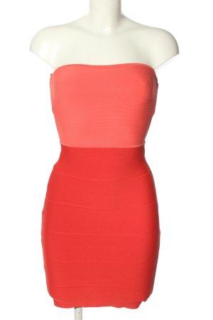 BCBG Maxazria Bustier Dress pink casual look