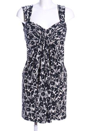 BCBG Maxazria Sukienka gorsetowa czarny-biały Na całej powierzchni