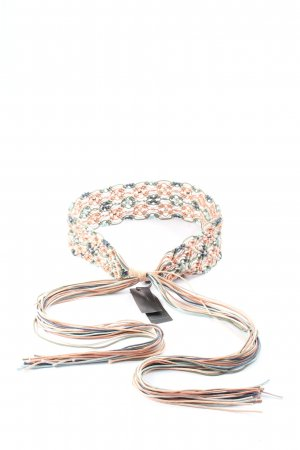 BCBG Maxazria Cintura in tela multicolore stile casual