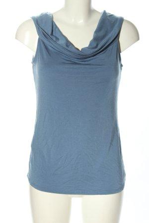 BCBG Maxazria Carmenshirt blau Casual-Look