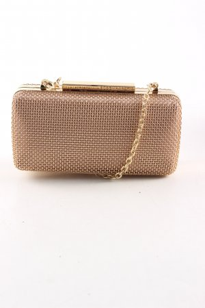 BCBG Maxazria Clutch goldfarben Casual-Look