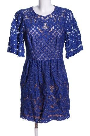 BCBG Maxazria Cocktail Dress blue elegant