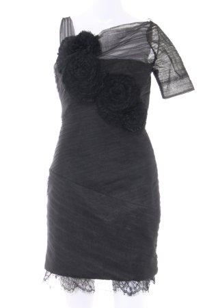 BCBG Maxazria Robe de cocktail noir élégant
