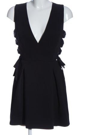 BCBG Maxazria Sukienka z wycięciem czarny Elegancki