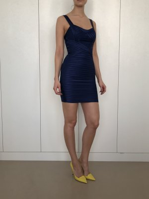BCBG Mini Dress dark blue polyester
