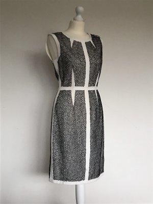 BCBGMAXAZRIA Sukienka etui czarny-biały