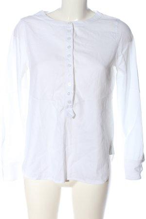 BCBG Maxazria Blouse-chemisier blanc style d'affaires