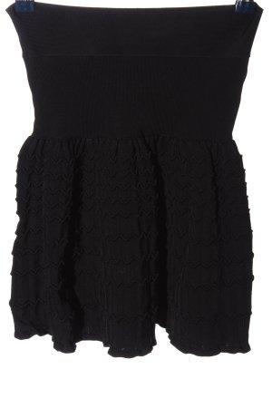 BCBG Maxazria Spódnica z wysokim stanem czarny W stylu casual