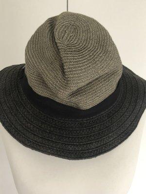 BCBG Maxazria Chapeau de soleil gris-noir