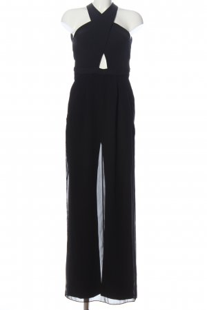 BCBG Maxazria Jumpsuit schwarz Business-Look