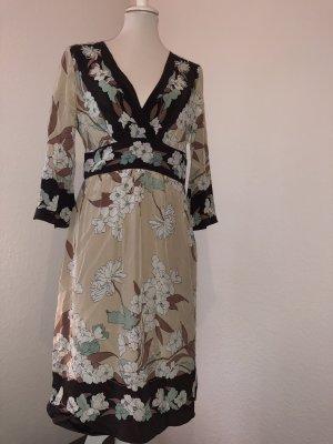 BCBG MAXAZRIA Kleid Dress Kimono Style Blumenkleid