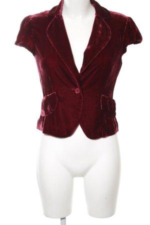 BCBG Maxazria Kurz-Blazer rot extravaganter Stil