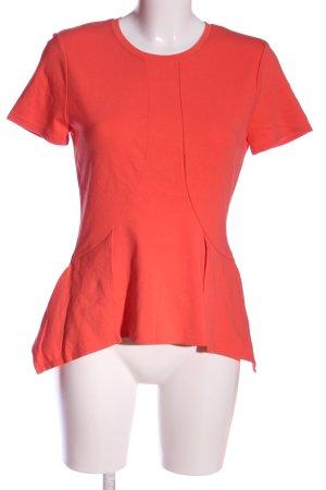 BCBG Maxazria Camicetta a maniche corte rosso stile casual