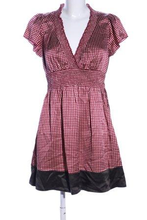 BCBG Maxazria Robe à manches courtes imprimé allover style classique