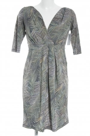 BCBG Maxazria Langarmkleid abstraktes Muster Street-Fashion-Look