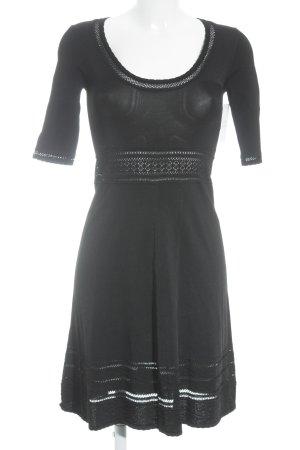 BCBG Maxazria Robe à manches longues noir style festif