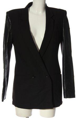 BCBG Maxazria Blazer long noir style d'affaires