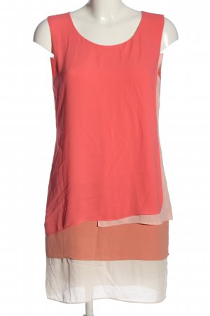 BCBG Maxazria Lange blouse rood-licht Oranje casual uitstraling
